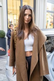 Emily Ratajkowski - Looking cute while out and about in Milan