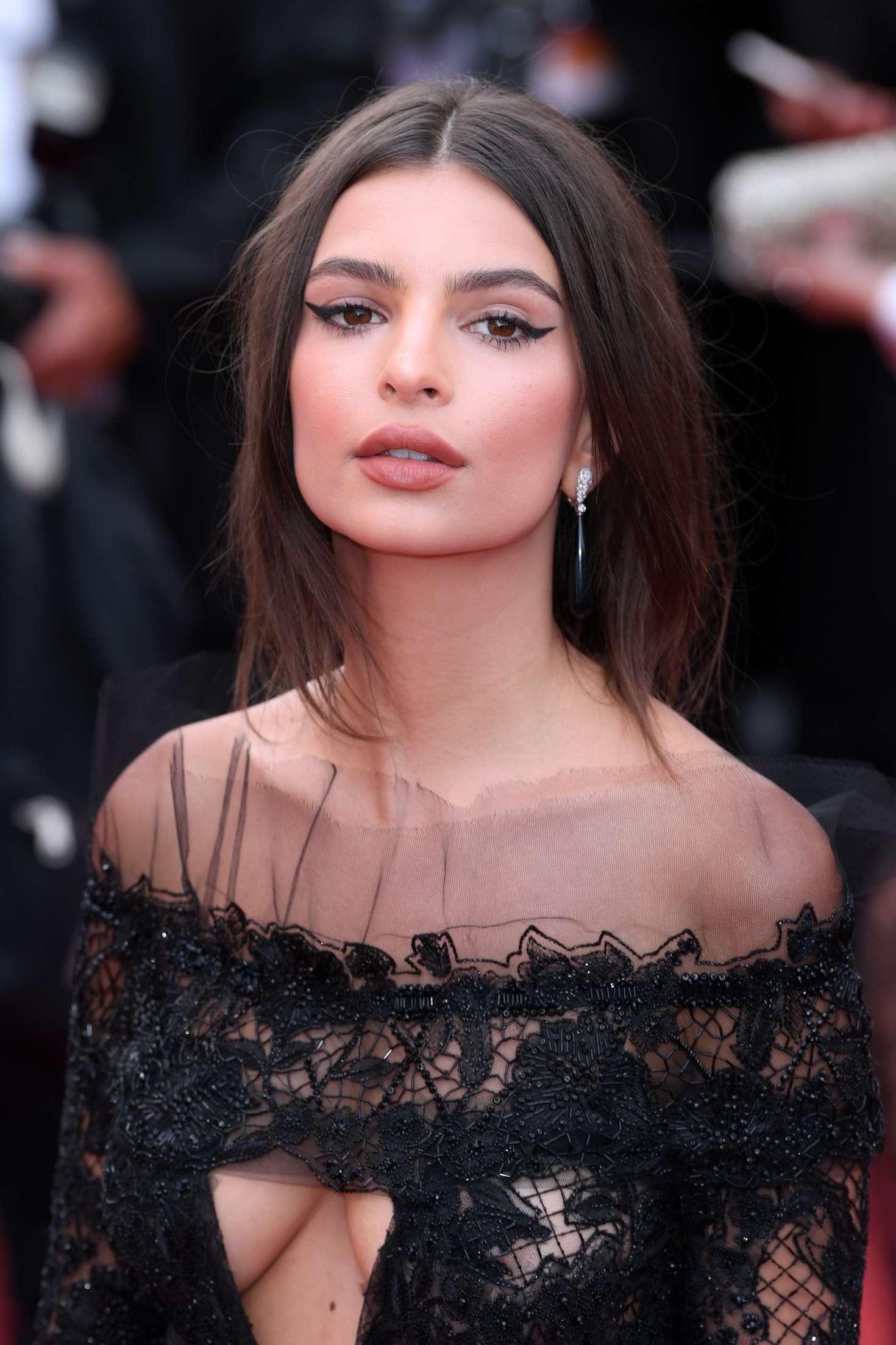 Emily Ratajkowski Loveless Premiere At 70th Cannes