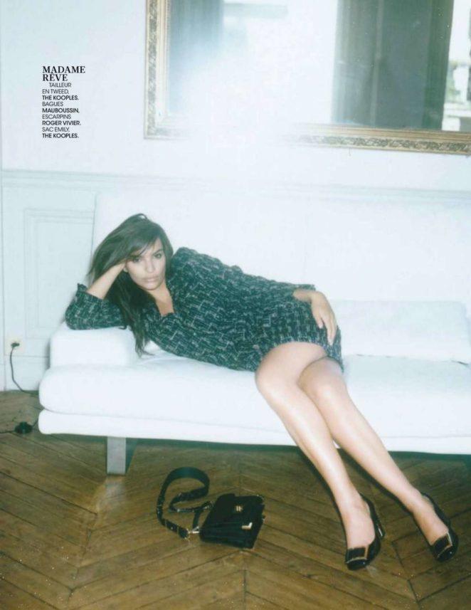 Emily Ratajkowski - Madame Figaro Magazine (September 2017 issue)