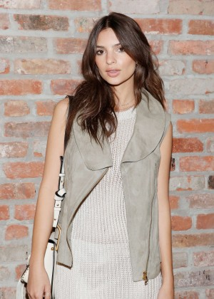 Emily Ratajkowski - Maiyet 2016 Fashion Show in NYC