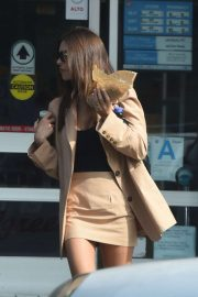 Emily Ratajkowski – Out for Lunch in LA