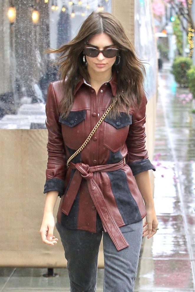 Emily Ratajkowski out in Beverly Hills