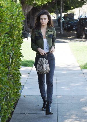 Emily Ratajkowski out in Los Angeles