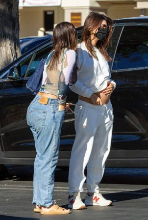 Emily Ratajkowski - Out with friends for a grocery shopping in Los Angeles