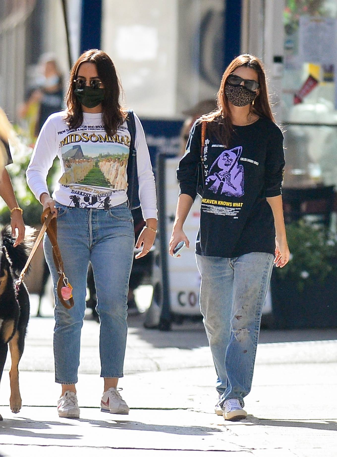 Emily Ratajkowski 2020 : Emily Ratajkowski – Out with her dog in downtown New York-08