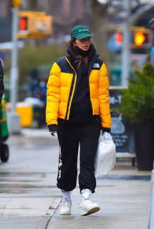 Emily Ratajkowski - Out with husband Sebastian Bear-McClard in Manhattan