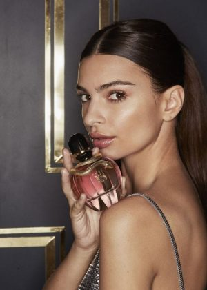 Emily Ratajkowski - Paco Rabannes Pure XS Perfume Campaign 2018