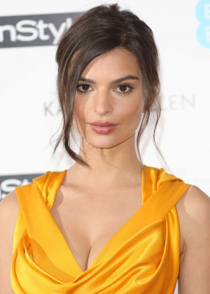 Emily Ratajkowski - EE and InStyle Pre-BAFTA Party 2015 in London