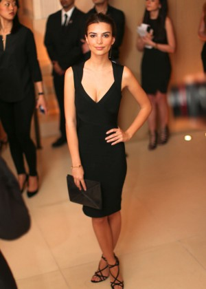 Emily Ratajkowski - Premiere of The New York Edition & Launch of W Art in NY
