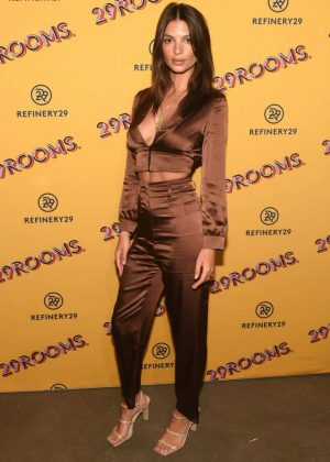 Emily Ratajkowski - Refinery29's 29Rooms Chicago: Turn It Into Art Opening Party