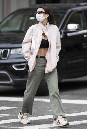 Emily Ratajkowski - Seen outside The Met in New York