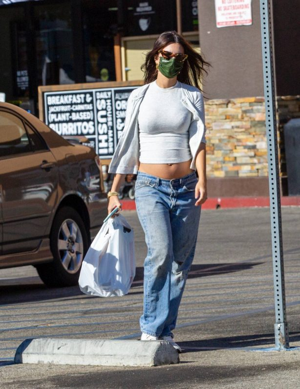 Emily Ratajkowski - shopping candids with a friend in Los Angeles
