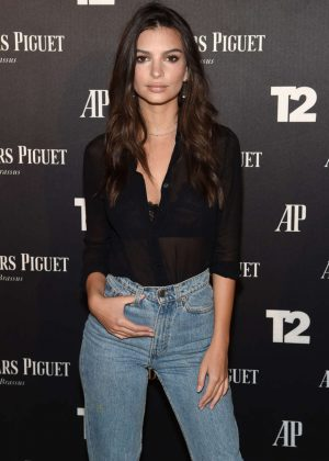 Emily Ratajkowski - Take-Two Interactive Hosts Miami Beach Kickoff Party