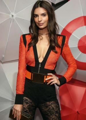 Emily Ratajkowski  - TargetStyle in Vogue Fashion Week Event in NY