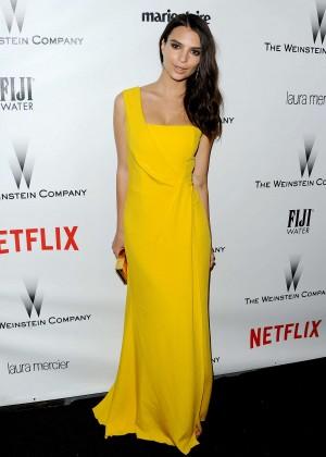 Emily Ratajkowski - The Weinstein Company & Netflix's Golden Globes Party 2015 in Beverly Hills
