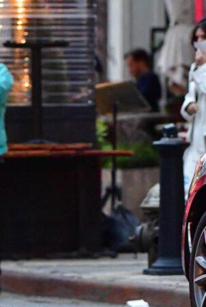 Emily Ratajkowski - With Sebastian Bear-McClard out together in New York