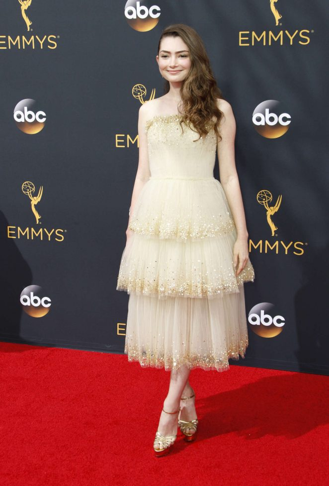 Emily Robinson - 2016 Emmy Awards in Los Angeles