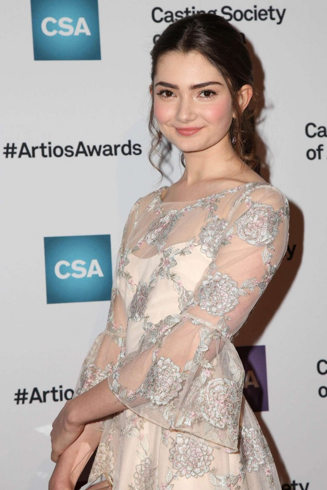 Emily Robinson - Casting Society Of America's 31st Annual Artios Awards in Beverly Hills