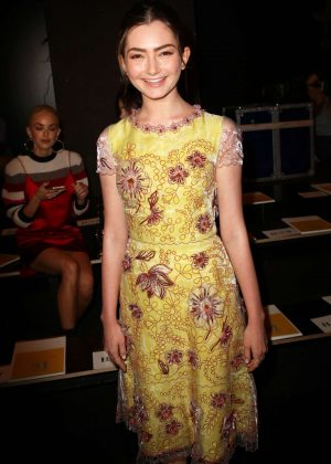 Emily Robinson - Jenny Packham SS17 Show in New York City