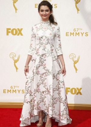 Emily Robinson - 2015 Emmy Awards in LA