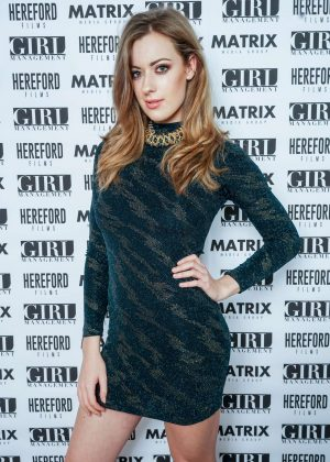 Emily Shaw - Matrix Media Group Christmas Party in Chelsea