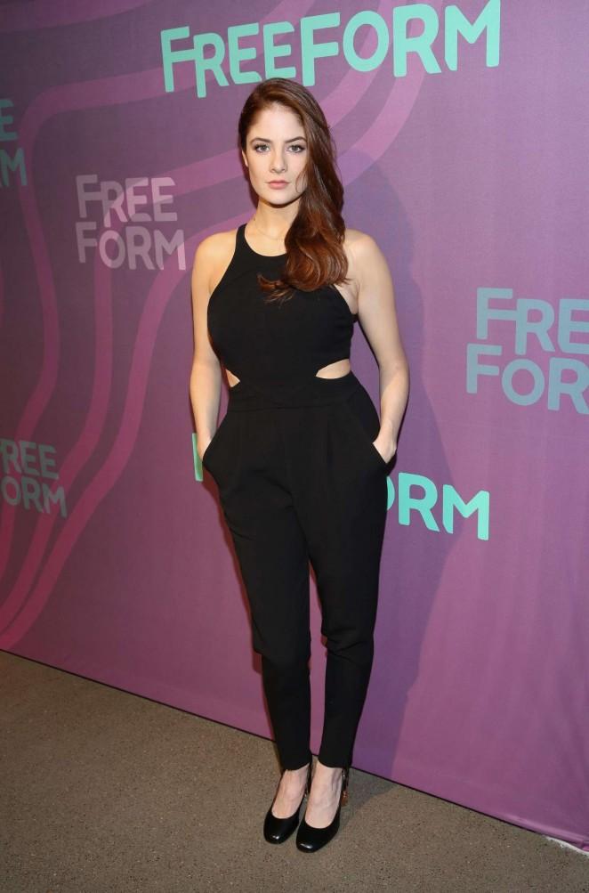 Emily Tremaine - 2016 ABC Freeform Upfront in New York