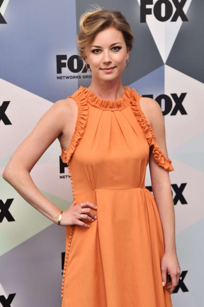 Emily VanCamp - 2018 Fox Network Upfront in NYC