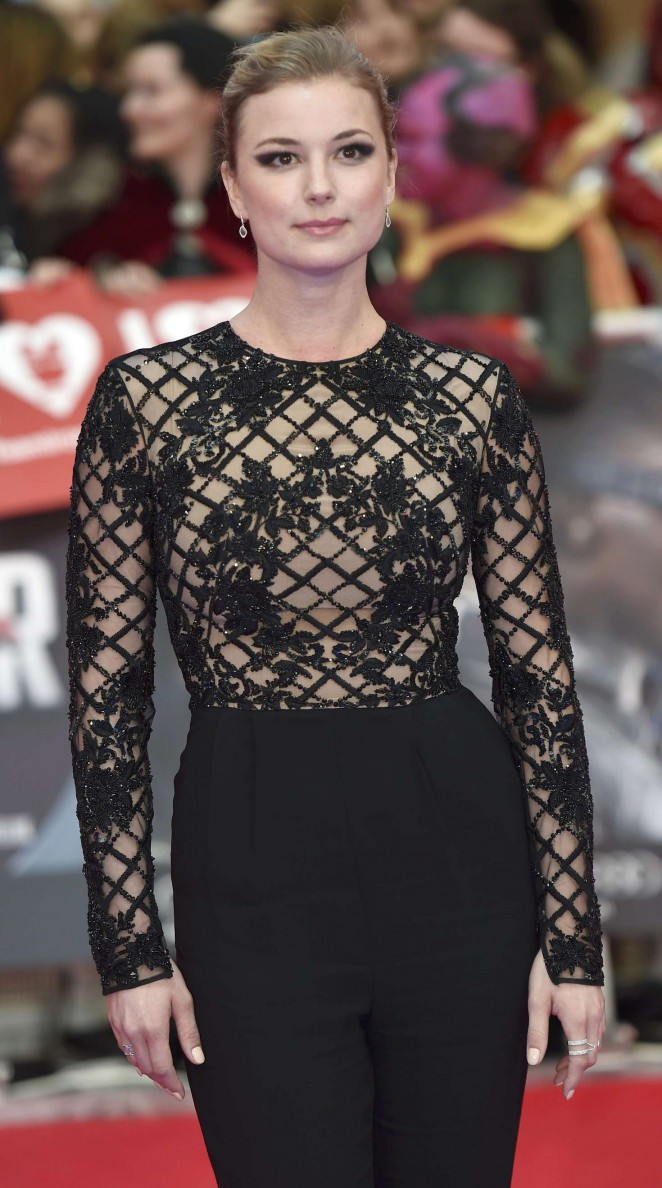 Emily VanCamp - 'Captain America: Civil War' Premiere in London