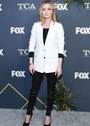 Emily VanCamp - Fox Winter TCA 2019 in Los Angeles
