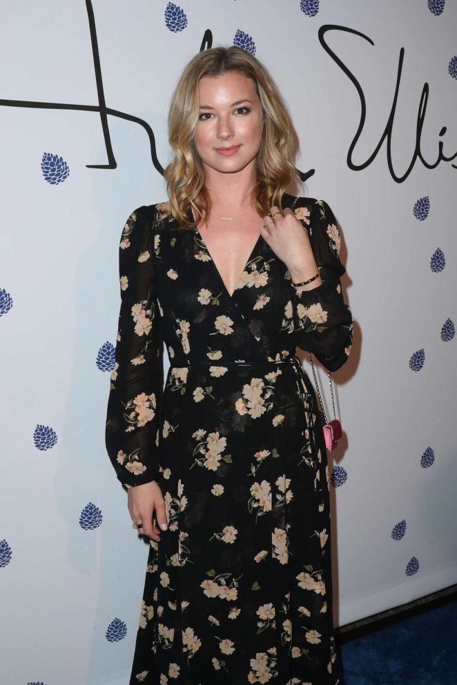 Emily VanCamp - Tyler Ellis Celebrates 5th Anniversary in West Hollywood