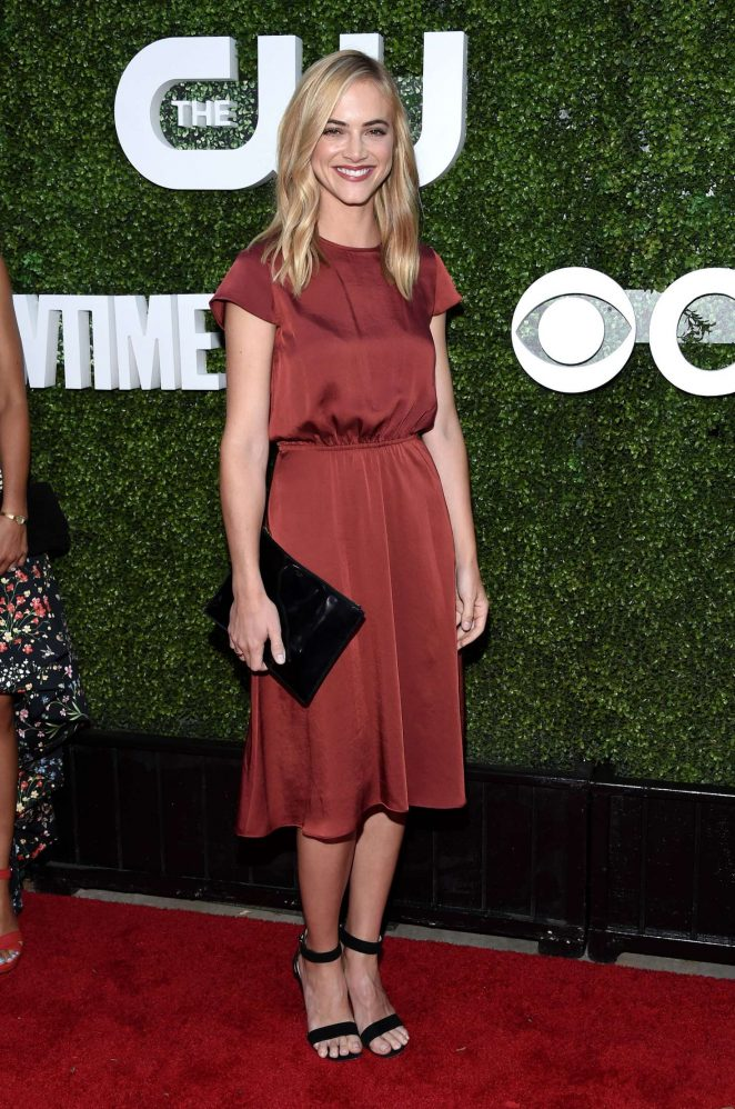 Emily Wickersham - 2016 CBS CW Showtime Summer TCA Party in West Hollywood