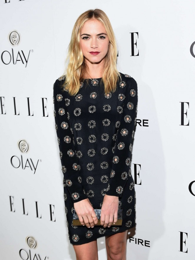 Emily Wickersham - ELLE's Annual Women in Television Celebration 2015