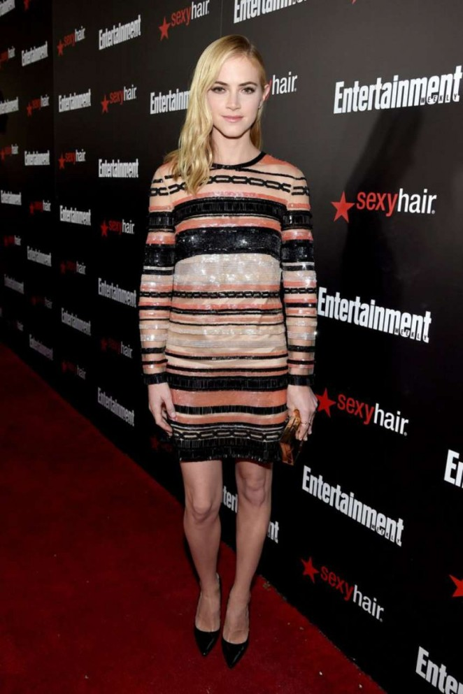 Emily Wickersham - Entertainment Weekly's 2015 SAG Awards Nominees in LA
