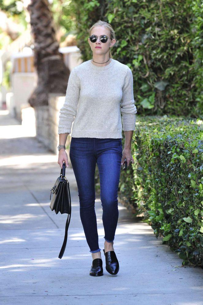 Emily Wickersham in Jeans -05