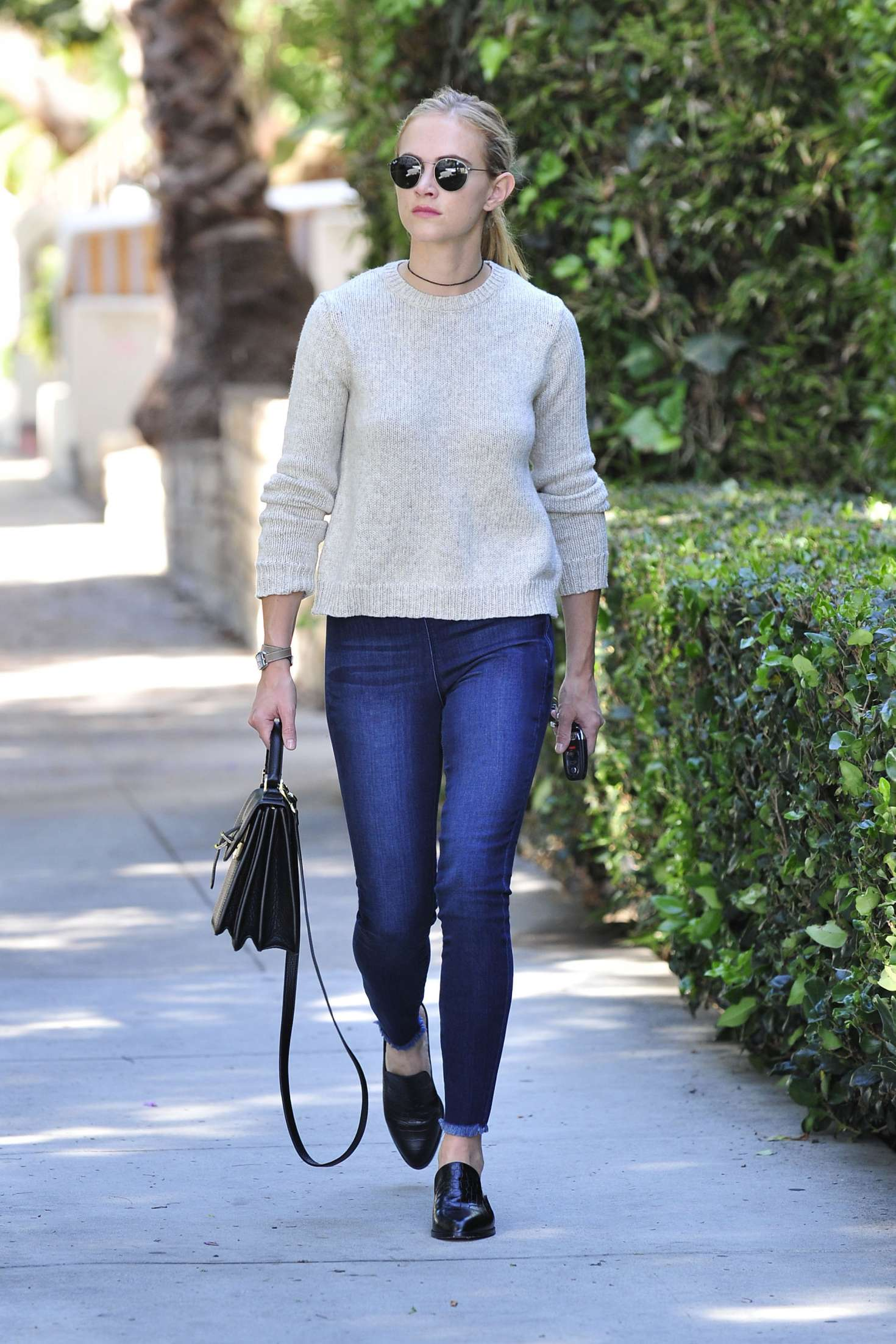 Emily Wickersham In Jeans Out In Los Angeles GotCeleb