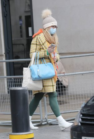 Emma Barnett - Spotted at the BBC Broadcasting House in London