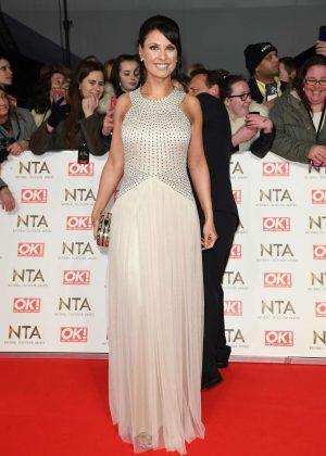 Emma Barton - 2017 National Television Awards in London