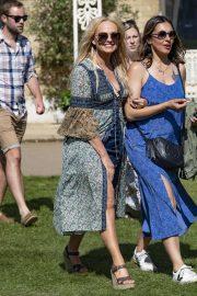 Emma Bunton - Arriving for the House Festival in Hampstead