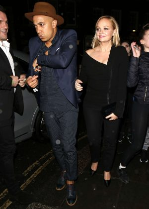 Emma Bunton - Universal Music Brit Awards After Party in London