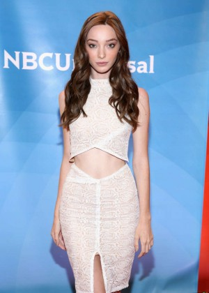 Emma Dumont - 2015 NBC New York Summer Press Day in NYC