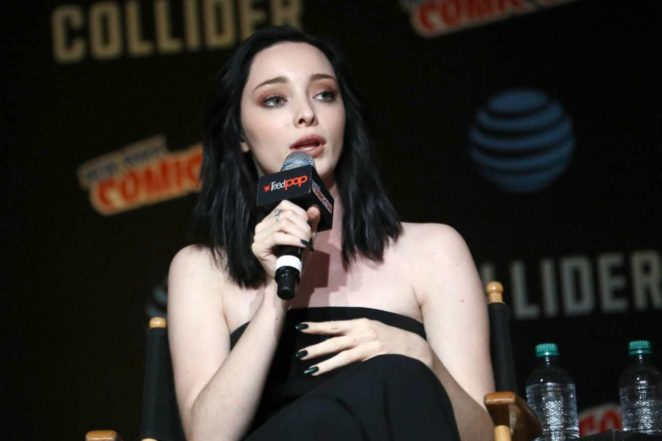 Emma Dumont - 'The Gifted' Panel at 2017 NYCC in NYC