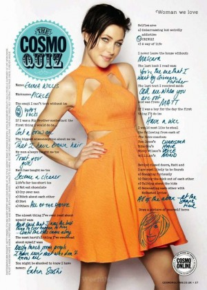 Emma Heming - Cosmopolitan UK Magazine (March 2015)
