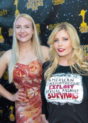 Emma Julia Jacobs and Stephanie Paris - 43rd Annual Saturn Awards in Burbank