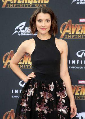 Emma Lahana - 'Avengers: Infinity War' Premiere in Los Angeles
