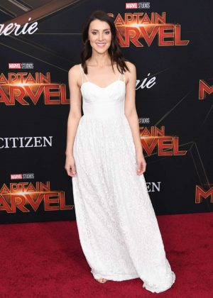 Emma Lahana - 'Captain Marvel' Premiere in Los Angeles