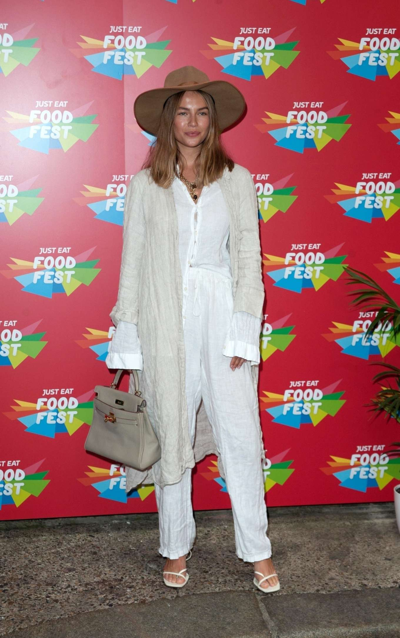 Emma Louise Connolly - VIP launch of Just Eat Food Fest Taste Adventure in London