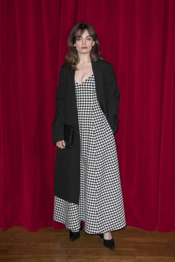 Emma Mackey - Ami Alexandre Mattiussi Menswear 2020 Show in Paris