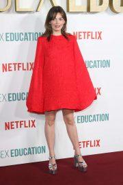 Emma Mackey - 'Sex Education' Season 2 Premiere in London