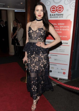 Emma Miller - Gala Dinner Held 2015 in London