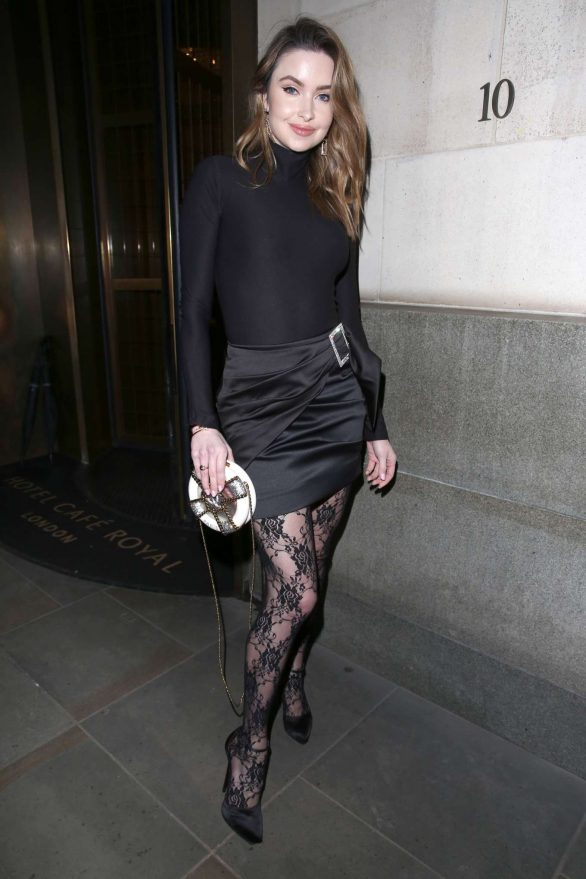 Emma Miller 2019 : Emma Miller – House of CB Christmas Party in London-03